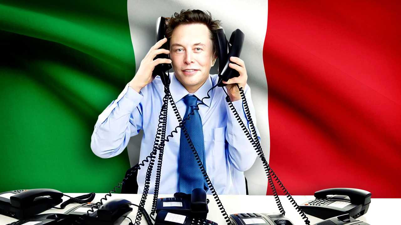 Elon Musk, Italia