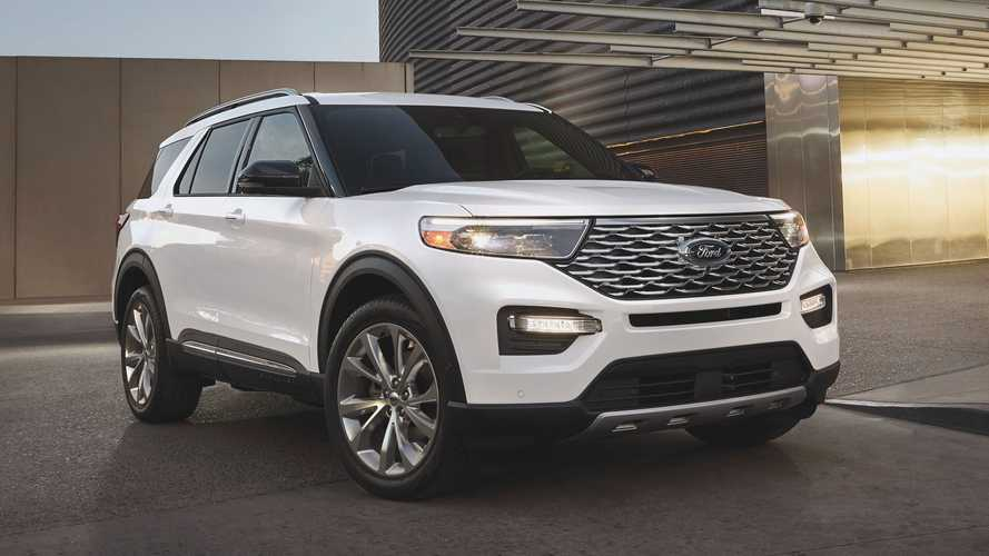 2021 Ford Explorer new versions
