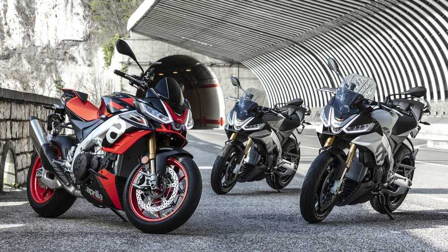 Updated Aprilia Tuono V4 Now In Dealerships Across Italy