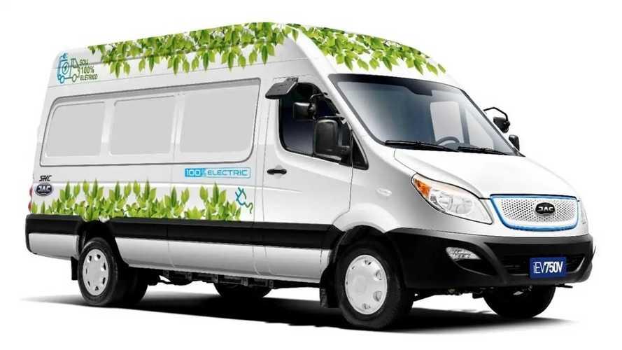 Furgão elétrico JAC iEV750V chega ao Brasil em julho; veja preço