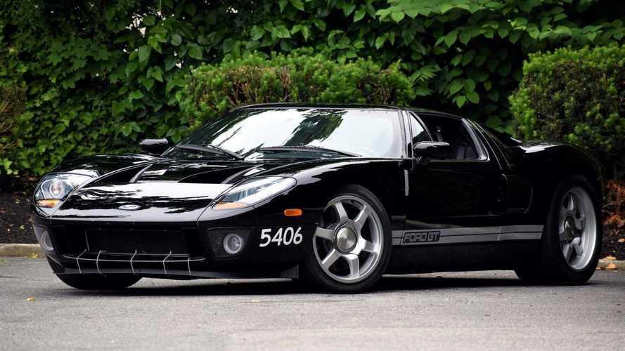 En venta el primer 'proto' de Ford GT, que solo alcanza 8 km/h