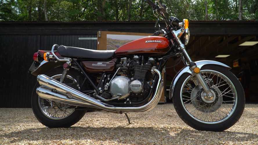 Kawasaki Z1 Ini Suara Knalpotnya Masih Halus dan Bikin Iri