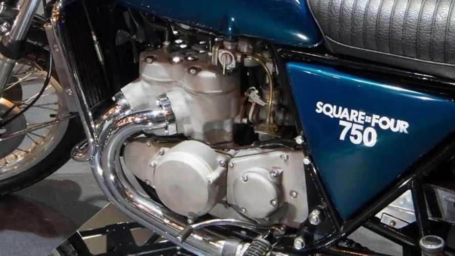 Kawasaki Square-Four 750 1971