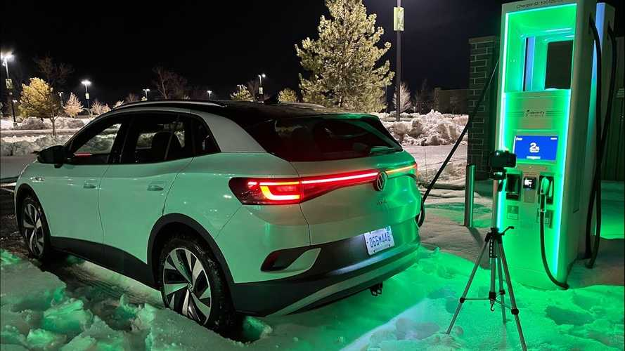 VW ID.4 Amazes With DC Fast Charging Consistency (3 Cars Compared)