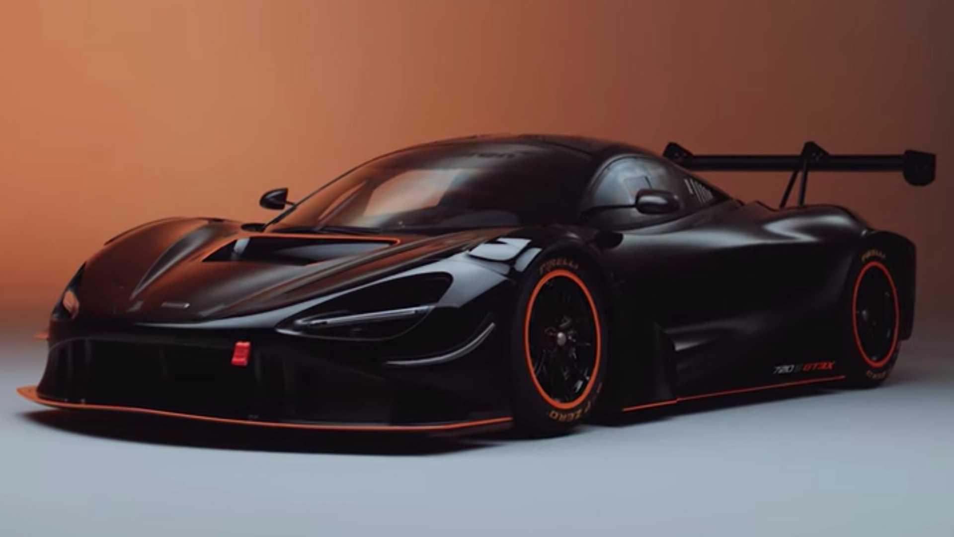 The McLaren 720S GT3X debuts by ignoring racing regulations with 710 hp