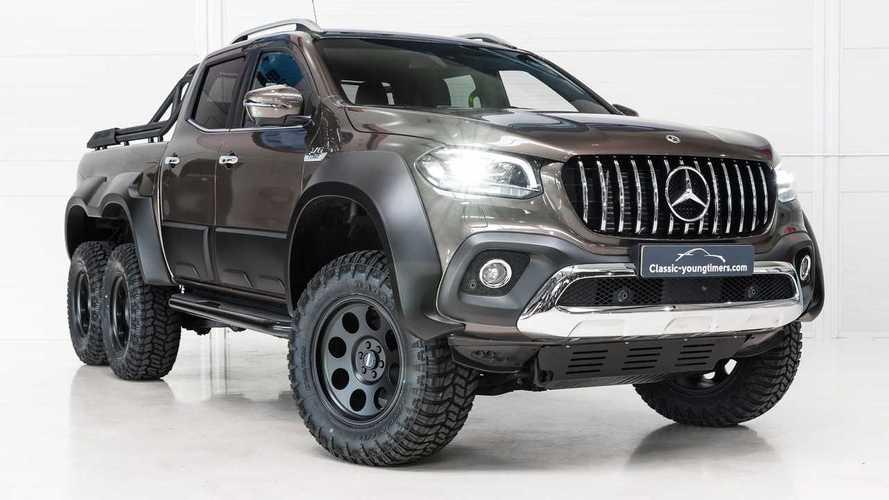 El Mercedes-Benz Clase X de seis ruedas existe y tiene dueño