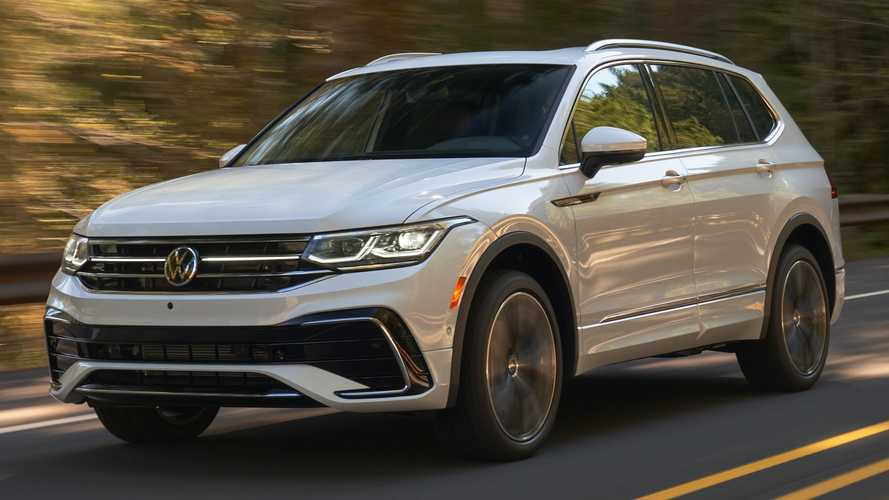 2022 VW Tiguan debuts with updated exterior, familiar interior