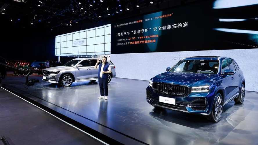 Mobil Cina Geely Pamer Kekuatan di Shanghai Auto Show