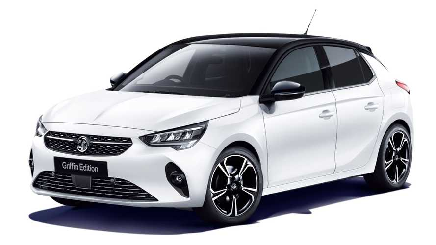 Vauxhall Corsa, Astra and Grandland X Griffin Editions