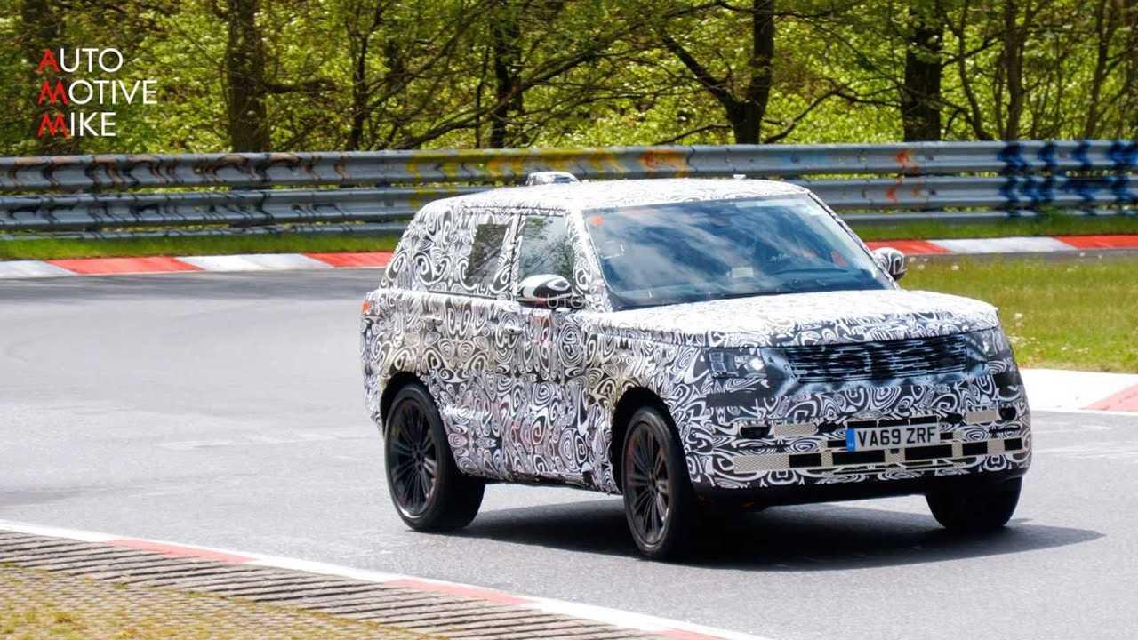 Nuova Range Rover, il prototipo al Nurburgring