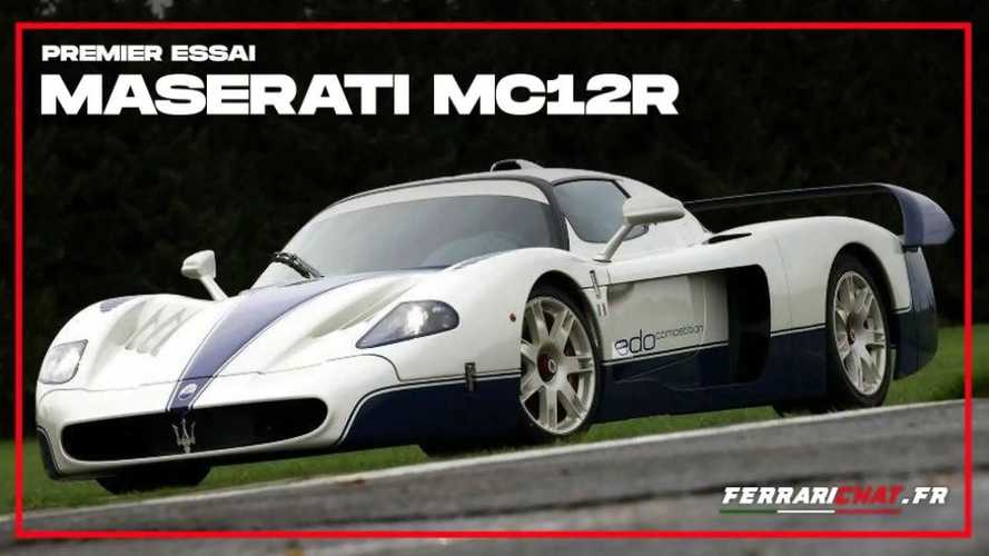 Essai Maserati MC12R - La supercar selon Edo Competition