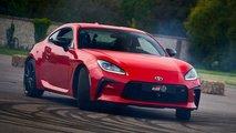 Toyota GR 86: Dynamische Weltpremiere in Goodwood