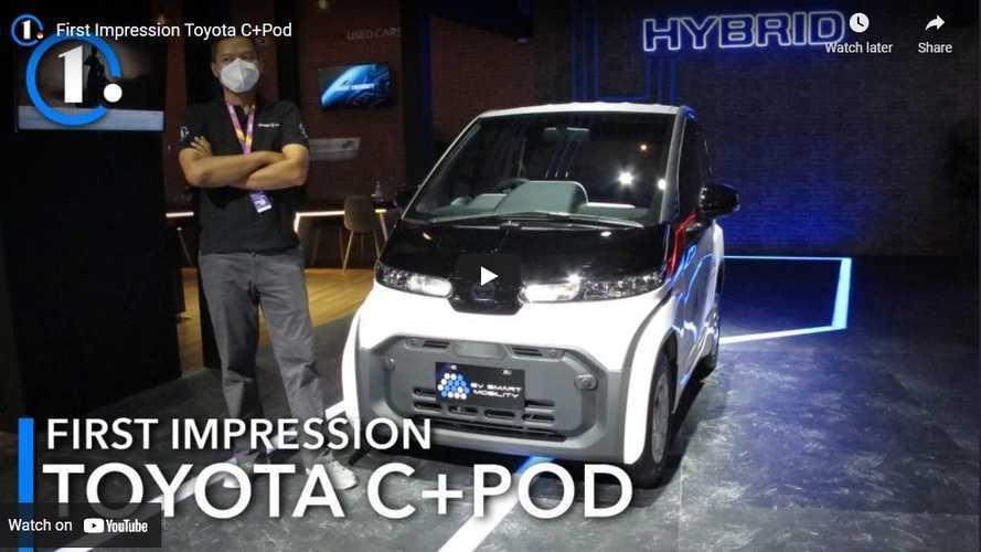 Impresi Pertama Toyota C+Pod: EV yang Imut dan Ringan
