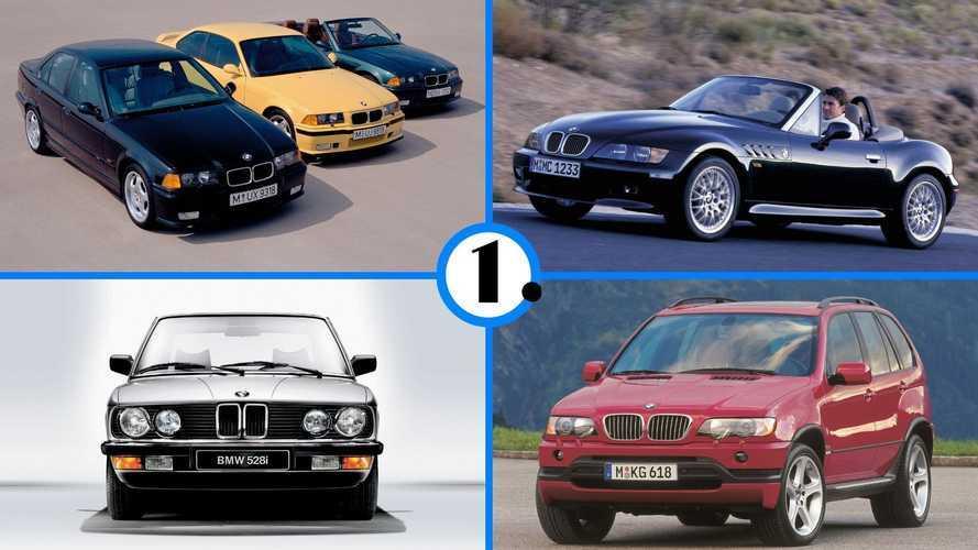 9 BMW que habría que comprar antes de que sea demasiado tarde