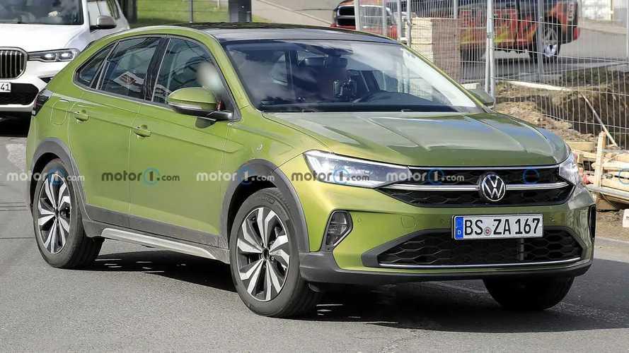 VW Taigo (2021) ungetarnt auf Erlkönigbildern