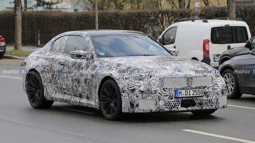 New BMW M2 Coupe spy shots