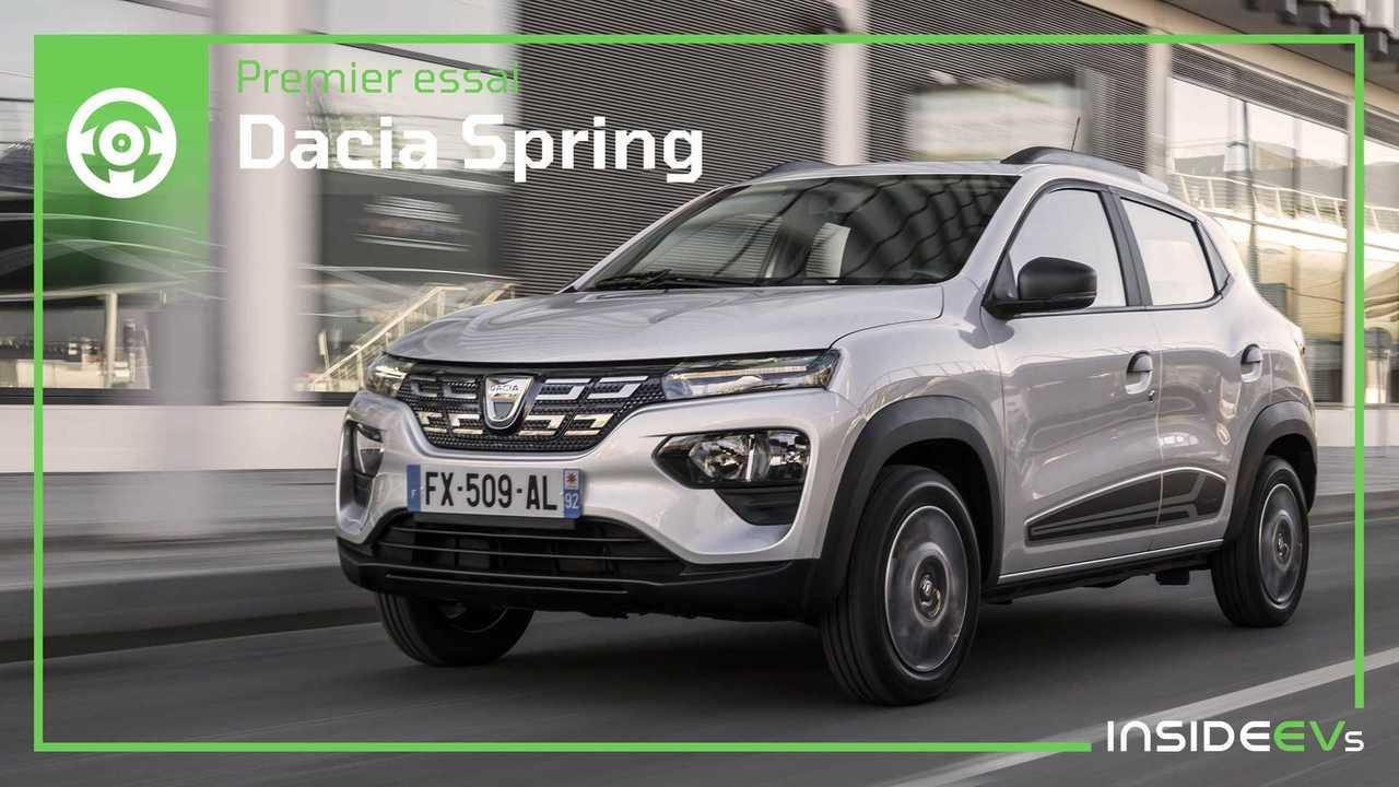 Essai Dacia Spring