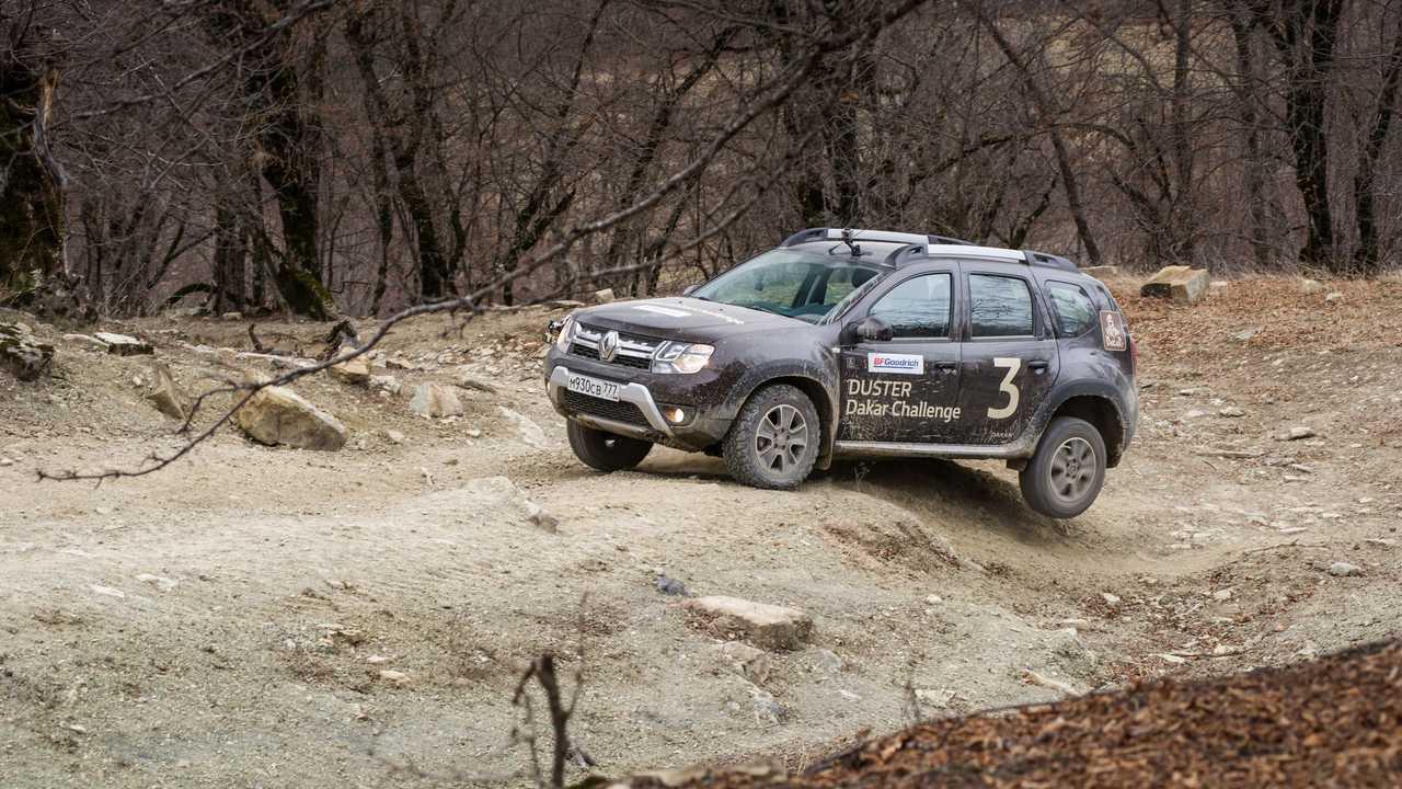 Renault Duster в Грузии
