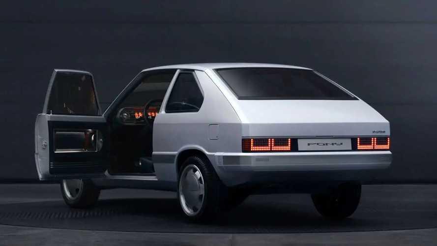 Hyundai Turns A 1975 Pony Into A Tiny Ioniq 5: Meet The Heritage Series - Pony