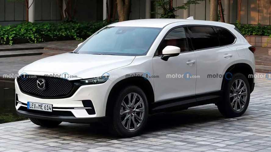 Next-Gen Mazda CX-5 Unofficially Rendered From Spy Shots