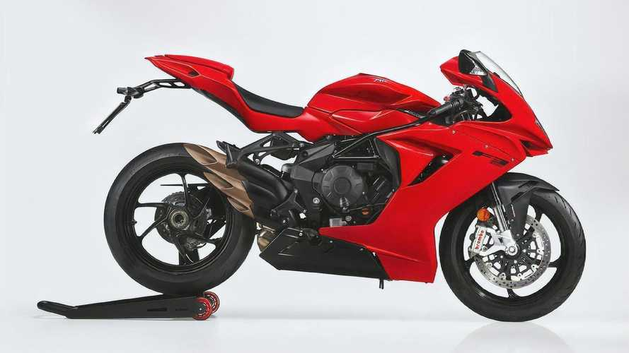 2021 MV Agusta F3 Rosso Is Here To Paint The Track Red