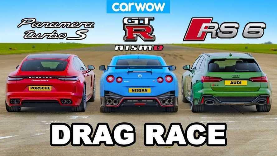 Nissan GT-R, Porsche Panamera ve Audi RS6 ile yarışıyor
