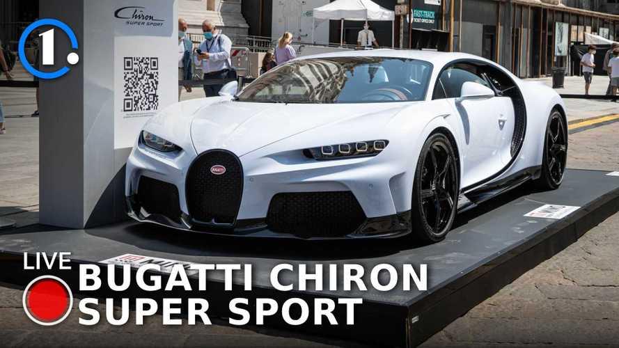 Bugatti Chiron, la più pura si chiama Super Sport