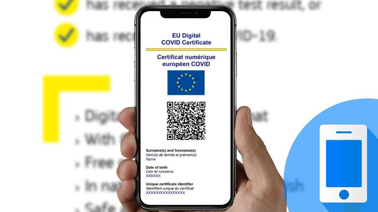 Eu Covid Certificate, Green Pass digitale