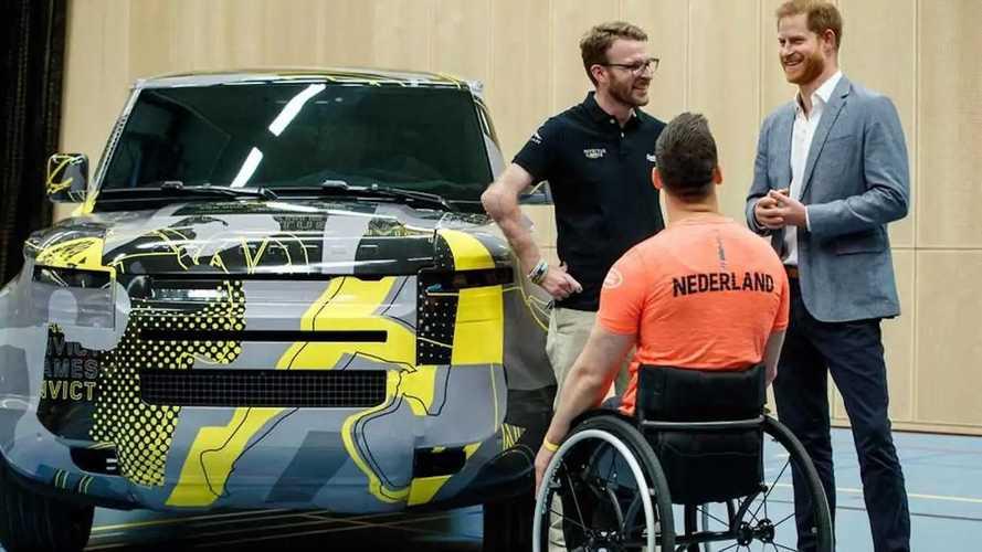 Land Rover Defender para quinta edição da Invictus Games