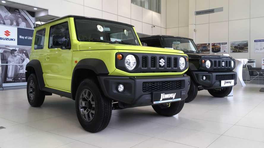 Suzuki Jimny russian start