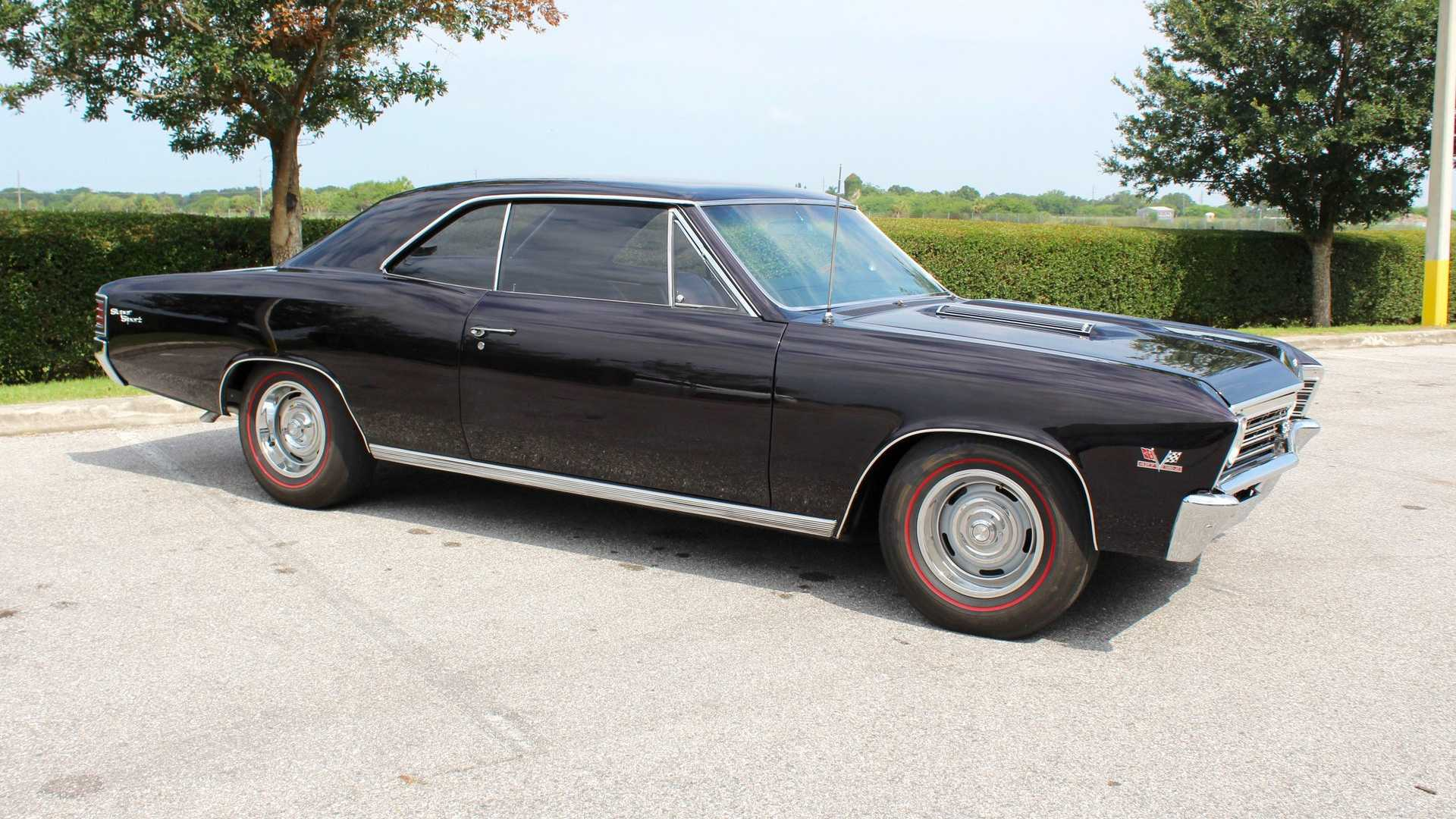 Big, Bad American Muscle: 1967 Chevrolet Chevelle SS   Motorious