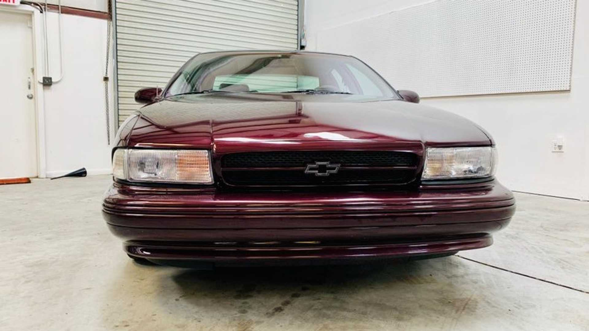 "[""This 1996 Chevrolet Impala SS is One Sinister Sedan""]"