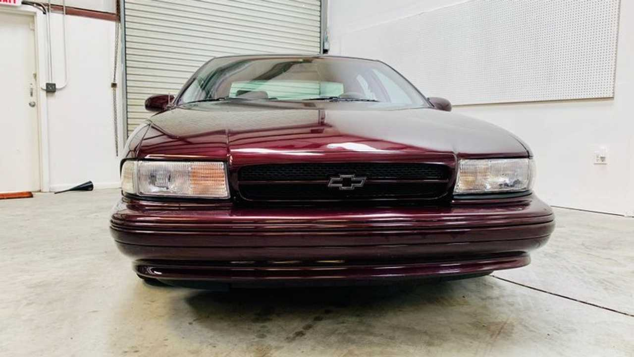 This 1996 Chevrolet Impala SS is One Sinister Sedan