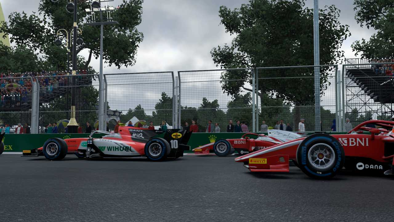 F1 2019 screen shot