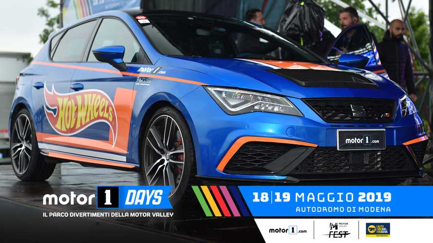 Seat Leon Cupra, una one-off Hot Wheels ai Motor1Days