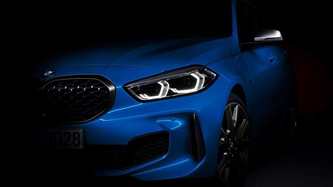 BMW Série 1 2020  (teasers)