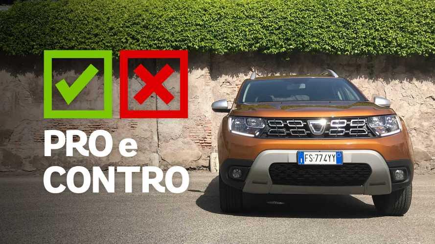 Dacia Duster GPL, pro e contro
