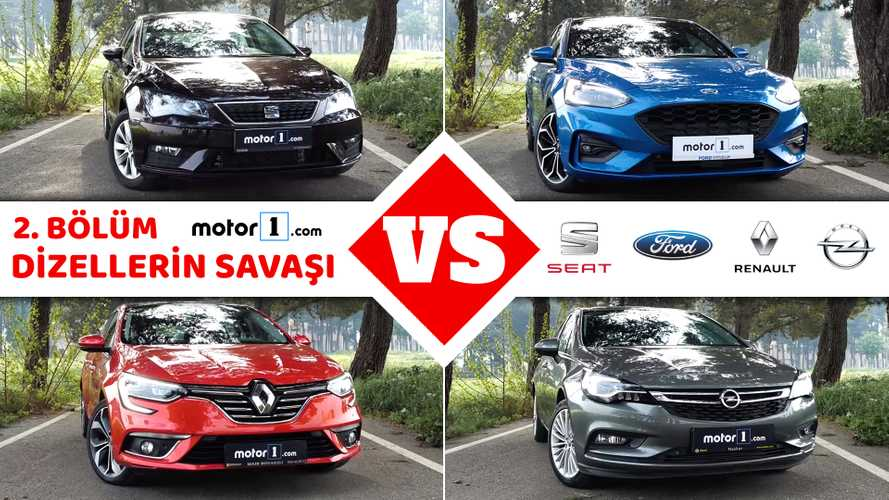 SEAT Leon vs. Ford Focus vs. Renault Megane vs. Opel Astra | Drag Yarışı