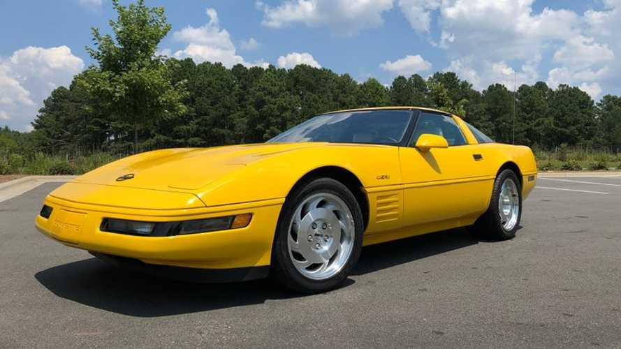 Rare 1993 Chevrolet Corvette ZR-1 40th Anniversary Up For Sale