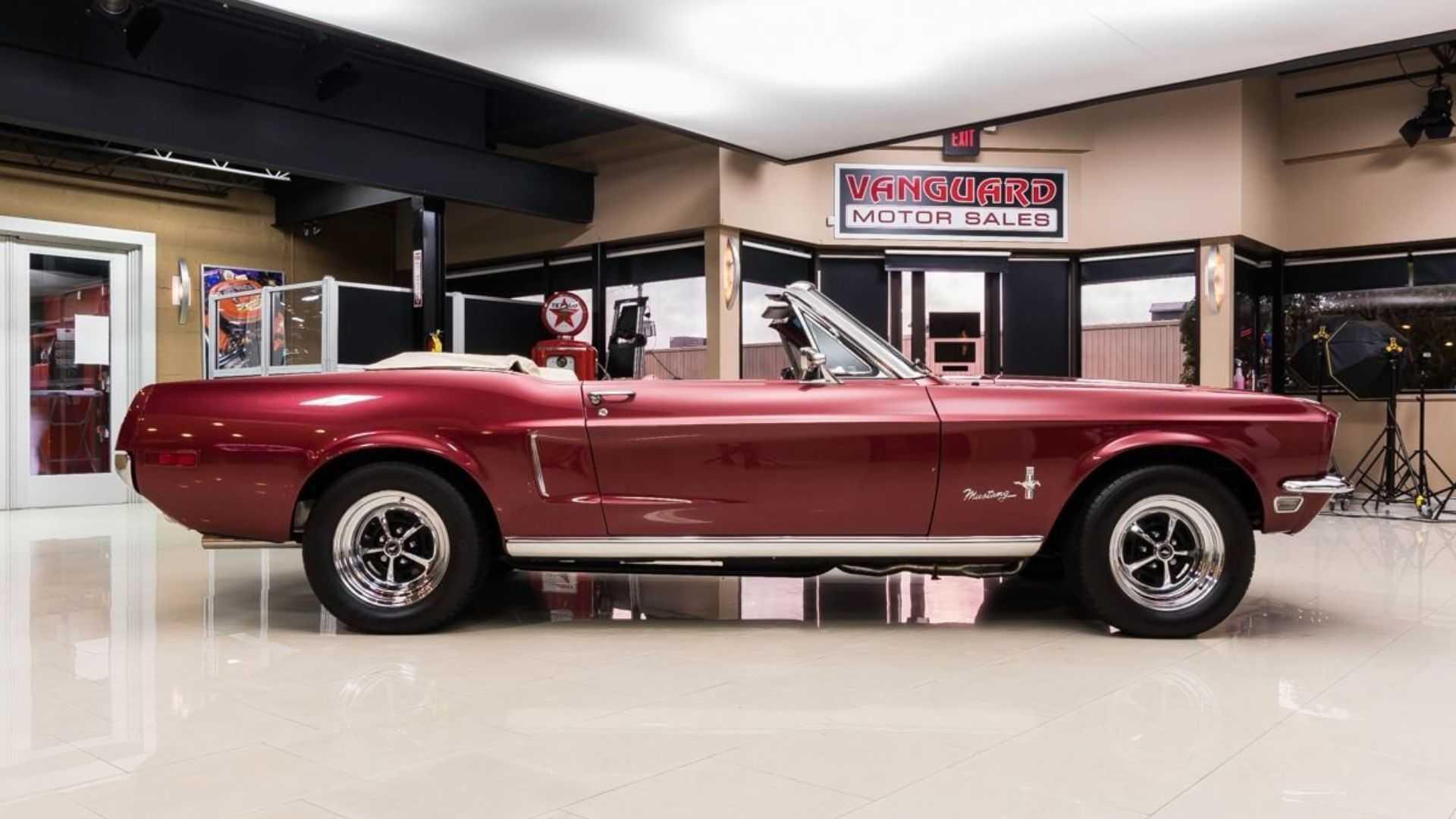"[""Smoke Camaros With A 1968 Ford Mustang Restomod""]"