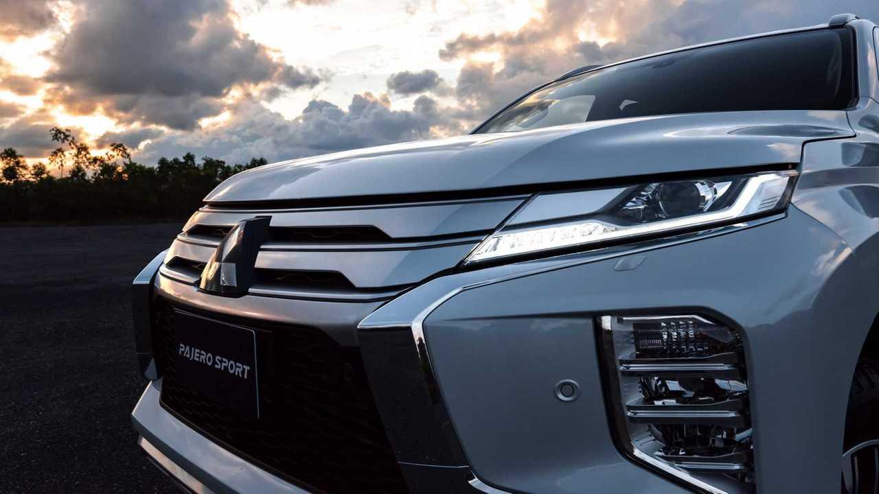 2020 Mitsubishi Pajero Sport подтяжка лица