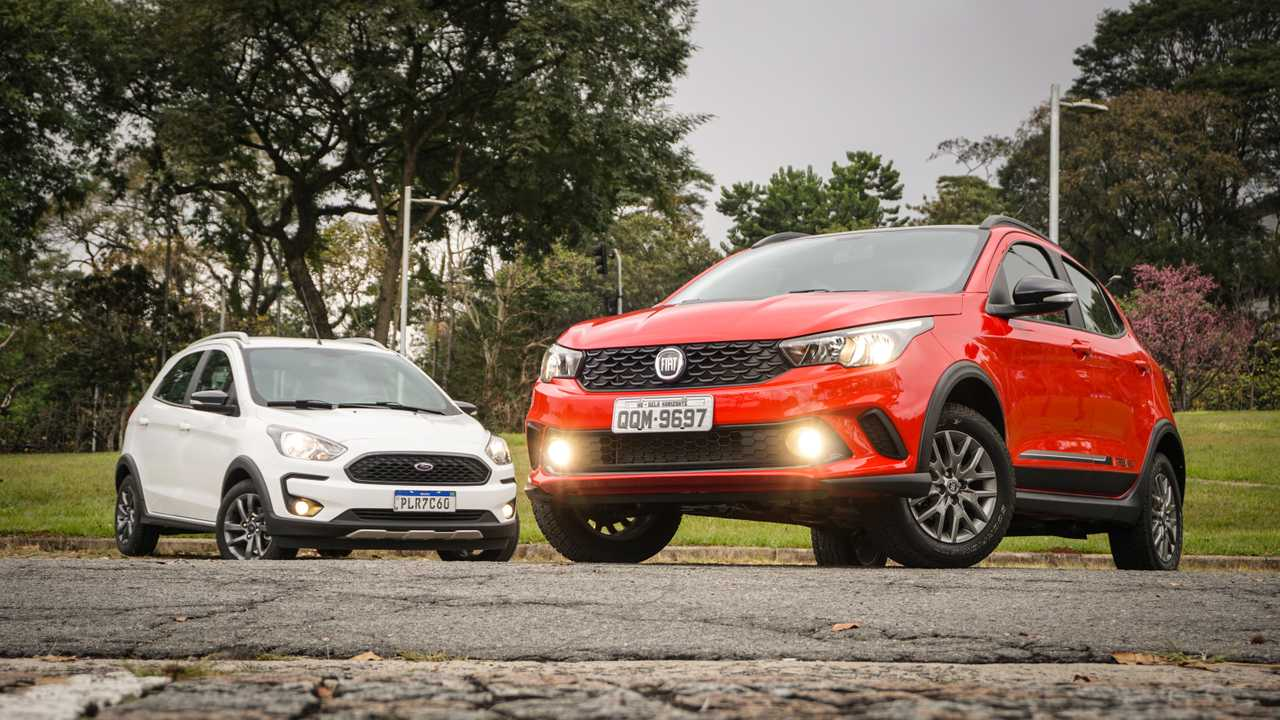 Comparativo: Fiat Argo Trekking x Ford Ka Freestyle