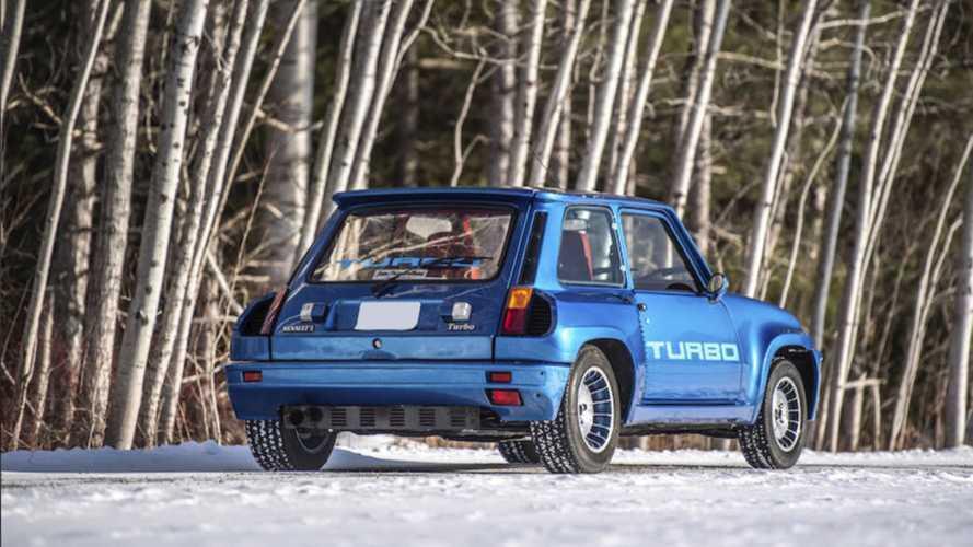 Descubre el Renault 5 Turbo, de 1981, que nadie quiso en una subasta