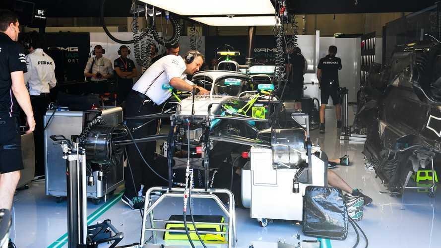 F1: Mercedes omologa un nuovo telaio della W10
