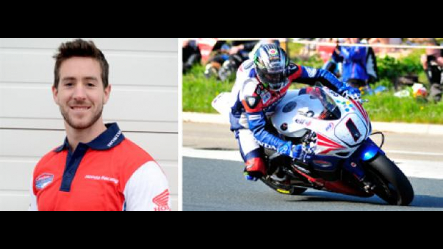 Tourist Trophy 2012: Simon Andrews all'Honda TT Legends Team