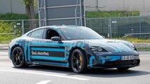 Photos espion de la Porsche Taycan