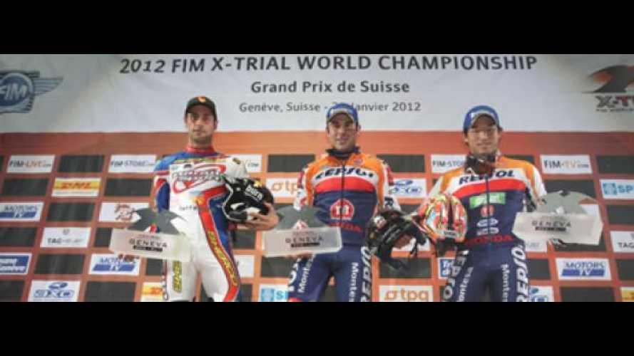 X-Trial World Championship 2012: Bou vince a Ginevra