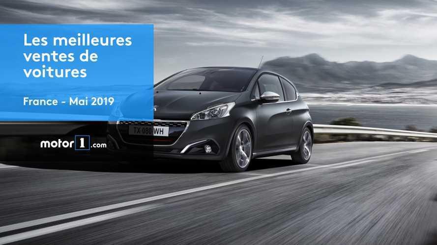 VIDÉO - Les 10 voitures les plus vendues en mai 2019 en France