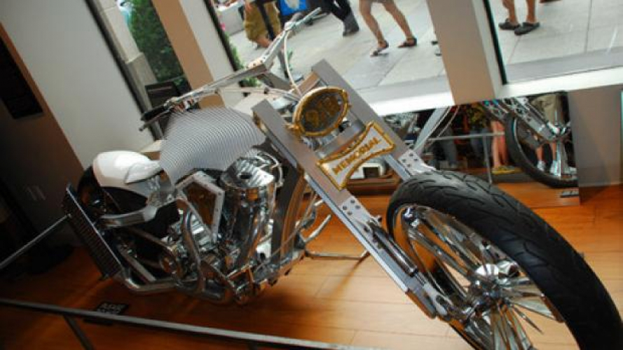 New York - Una visita alle moto commemorative