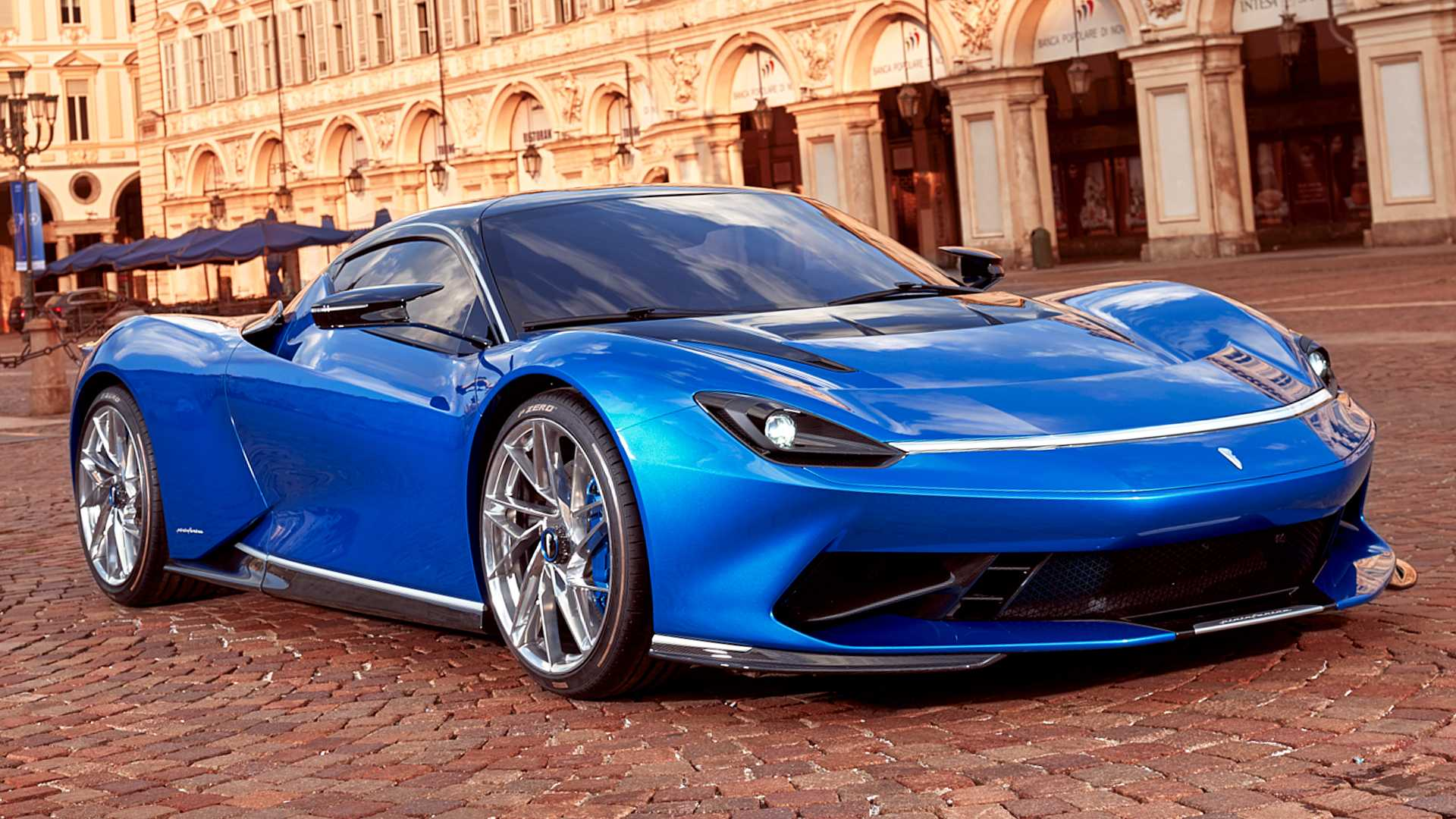 Pininfarina Battisa at the Valentino Park 2019